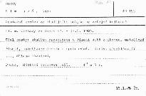 Cestovní zpráva ze studijního pobytu ve veřejné knihovně hl. m. Varšavy ve dnech 27.-31.5.1985