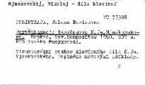 Fortepiannoje tvorcestvo n. ja. mjaskovs