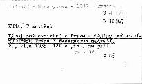 Vývoj poštovnictví v Praze a dějiny Poštovního úřadu Praha 7 Masarykovo nádraží