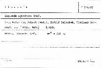 Zápisník agitátora 1987