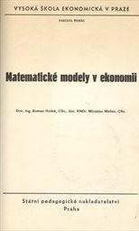 Matematické modely v ekonomii