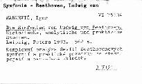 Die Sinfonien von Ludwig van Beethoven