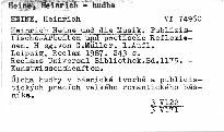 Heinrich Heine und die Musik