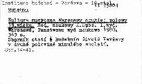 Kultura muzyczna Warszawy drugiej polowy 19. wieku