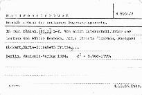 Handworterbuch der deutschen gegenwartss                         (L-Z)