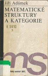 Matematické struktury a kategorie