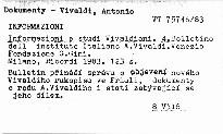 Informazioni e studi vivaldiani. 4.