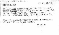 Miscellanea musicologica                         (Sv. 30)