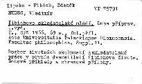 Fibichovo skladatelské mládí