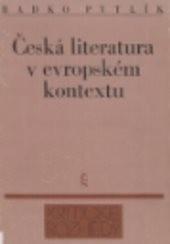 Česká literatura v evropském kontextu