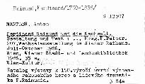 Ferdinand Raimund und die Nachwelt