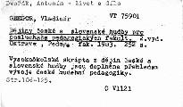 Dějiny české a slovenské hudby pro posluchače pedagogických fakult