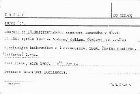 Infos '87.