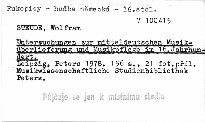 Untersuchungen zur mitteldeutschen Musiküberlieferung und Musikpflege im 16. Jahrhundert