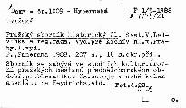 Pražský sborník historický 21