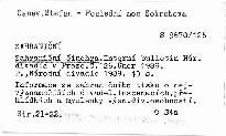 Zahraniční činohra                         (Č. 126,)