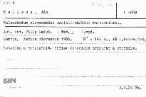 Kalendárium slovenského socialistického knihovníctva
