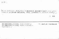 Sbírka řešených příkladů z matematiky III