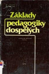 Základy pedagogiky dospělých