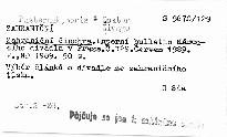Zahraniční činohra                         (Č. 129)