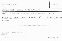 Automapa ČSSR - vybrané služby motoristom