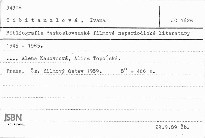 Bibliografie československé filmové neperiodické literatury