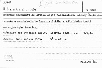 Sbornik dokumentu ke studiu dejin komuni