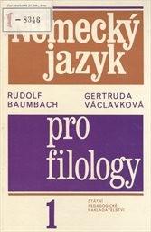 Německý jazyk pro filology                         (1)