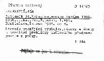 Zápisník 34. Hviezdoslavovho Kubína 1988