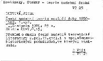 Česká hudební teorie novější doby 1850-1900