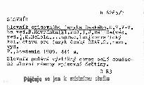 Slovník spisovného jazyka českého                         ([Díl] 7,)
