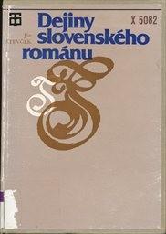 Dejiny slovenského románu
