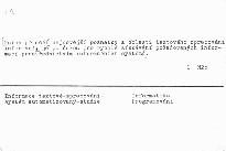 Automatizovaný systém spracovania textových informácií