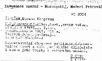 M. P. Musorgskij.