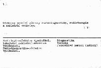 Radiologie a nukleární medicína