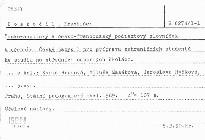 Česko-anglický a česko-francouzský podtextový slovníček k učebnice český jazyk I pro přípravu zahraničních studentů ke studiu na středních odborných školách