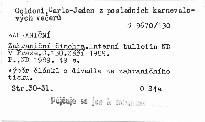 Zahraniční činohra                         (Č. 130,)