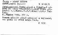 Prostonárodní české písně a říkadla