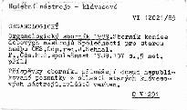 Organologický sborník 1989.