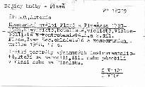 Koncertní umělci Plzně a Plzeňska 1780-1