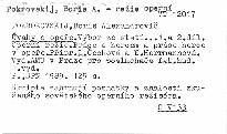 Úvahy o opeře                         (1. a 2. díl,)