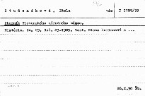 Zborník Slovenského národného múzea                         ([Zv.] 29, roč. 83 - 1989)