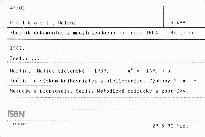 Zborník dokumentov z medzinárodného kong