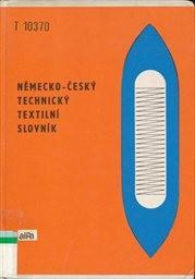 Německo-český technický textilní slovník