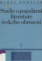 Studie o populární literatuře českého obrození
