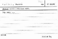 Okresní archív v Olomouci 1987
