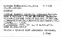 Počátky českého národního obrození