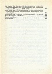 Pavol Jozef Šafárik a slovenské národné obrodenie