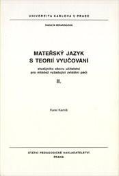 Mateřský jazyk s teorií vyučování studij