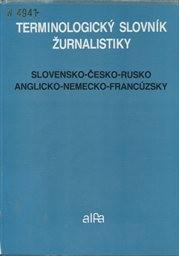 Terminologický slovník žurnalistiky